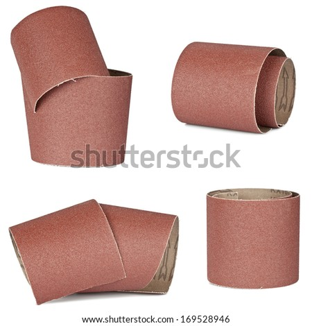 set of sandpaper for your woodwork