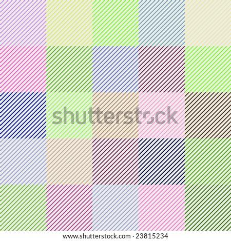 Set of striped background patterns - stock photo