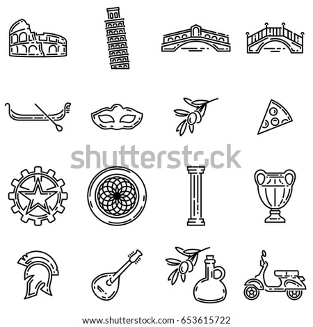 Symbols In Italian Clipart Library