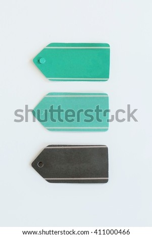Set of vintage labels or tags for price or ads - stock photo
