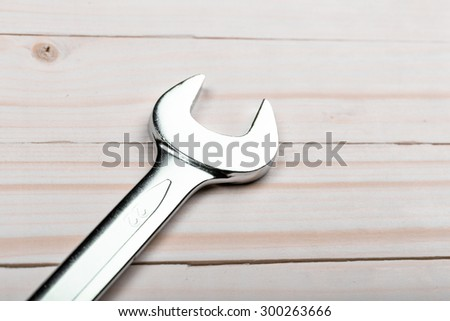 Set of wrenches. Tools