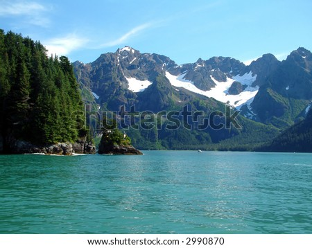Seward Harbor, Alaska - stock photo