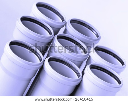 sewer pipes background
