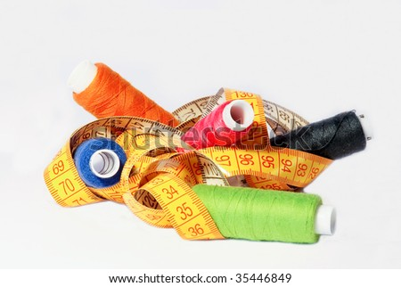 Sewing set - stock photo