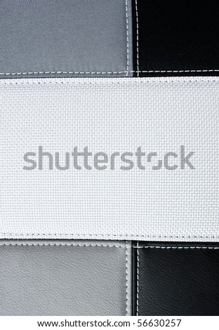 sewing texture for background - stock photo