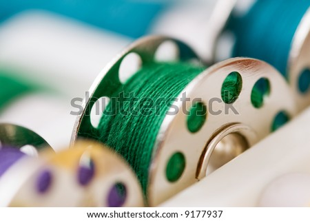Sewing Thread - stock photo