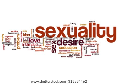 Sexuality word cloud - stock photo