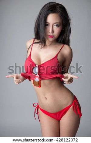 Asian In Red 84