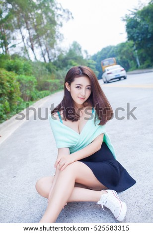 Woman posing for sex