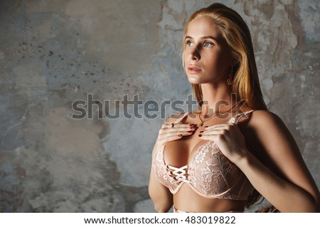 Sexy Blonde With Big Boobs