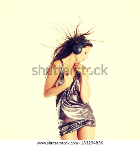Sexy dancer - stock photo
