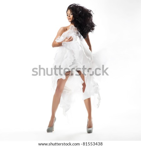 Sexy naked woman - stock photo