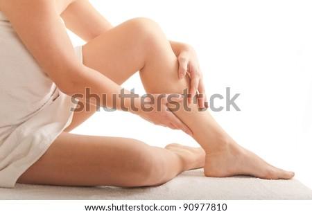 sexy woman legs - stock photo