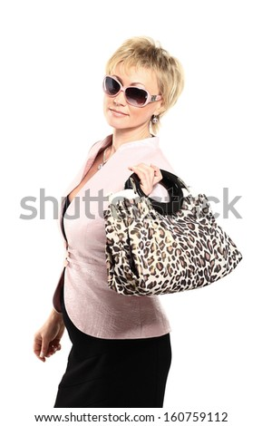 Sexy woman with sunglasses  - stock photo