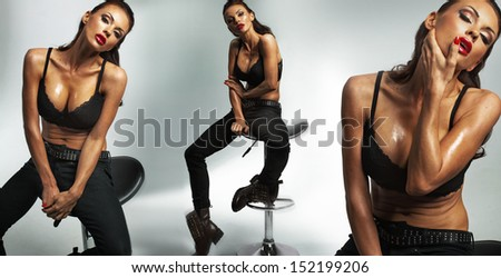 Sexy young woman - stock photo