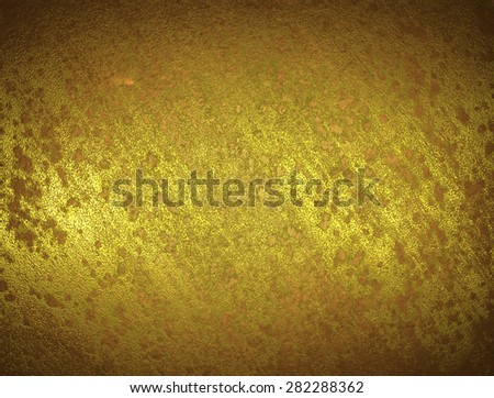 shabby gold background. Element for design. Template for design. Abstract grunge background.