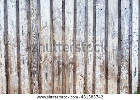 Shabby wooden boards background. Gray colored old wood