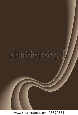 shades of brown form a wave like effect