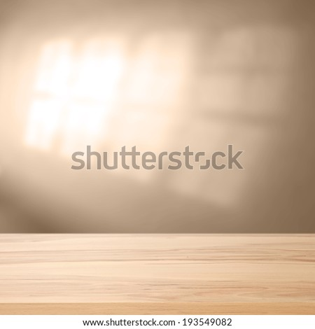 shadow of window  - stock photo