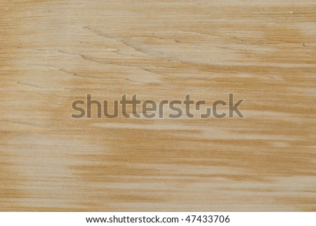 Shaggy wooden surface - stock photo
