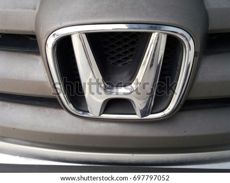 Shah Alam , Malaysia - 17th August 2017 : Logo of HONDA car.