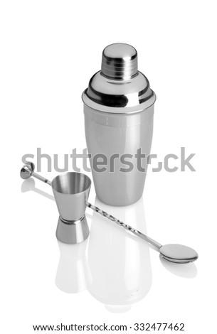 shaker set - stock photo