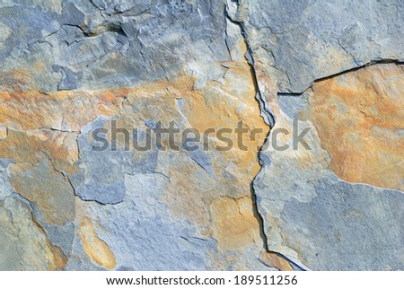 Shale texture - stock photo