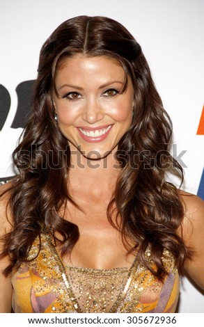 Shannon Elizabeth at the 19th Annual Race To Erase MS held at the Hyatt Regency Century Plaza in Century City, USA on May 18, 2012.
