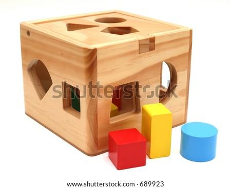 Shape Toy - stock photo