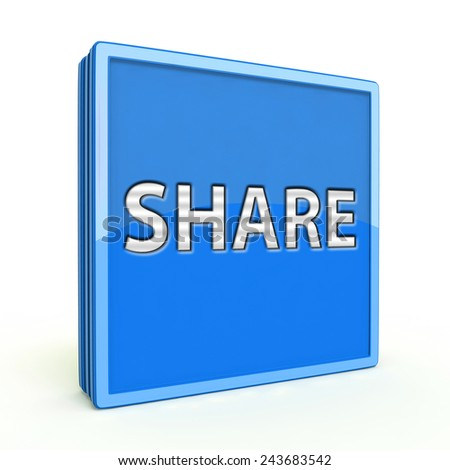 share square icon on white background