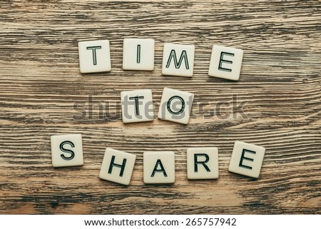 Share, video, viral. - stock photo