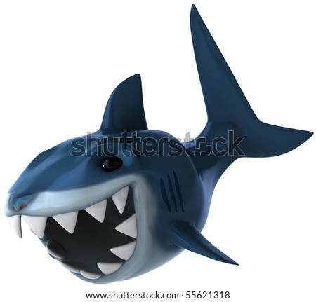 Shark - stock photo