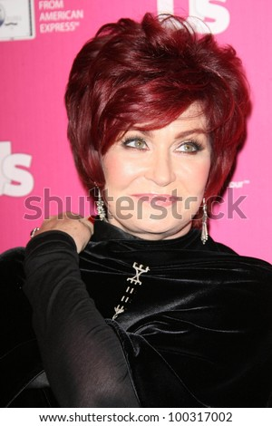 Sharon Osbourne at US Weekly's Hot Hollywood Event, Colony, Hollywood, CA. 11-18-10 - stock photo