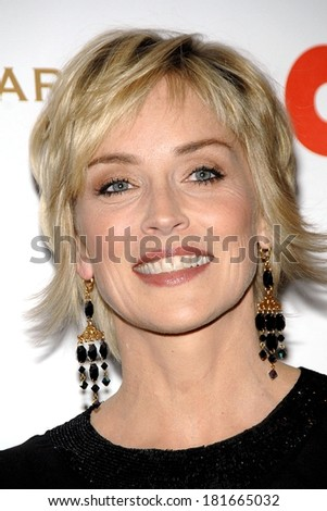 Sharon Stone at COOKIE Magazine Honors Celebrity Moms, Morgan Library and Museum, New York, NY, April 30, 2007 - stock photo