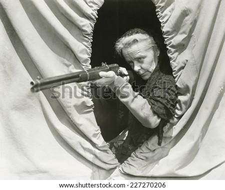 Sharp shooter - stock photo