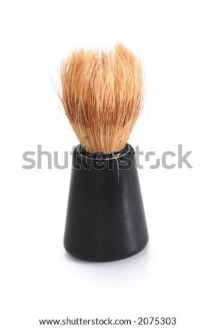 Shaving brush - stock photo