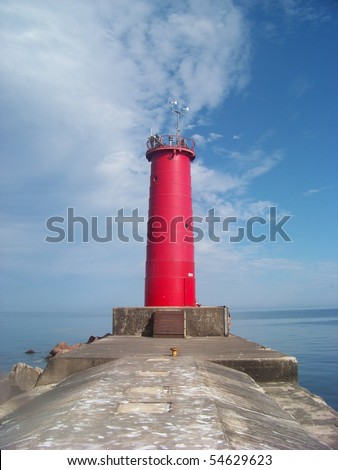 Sheboygan Red Lighthouse