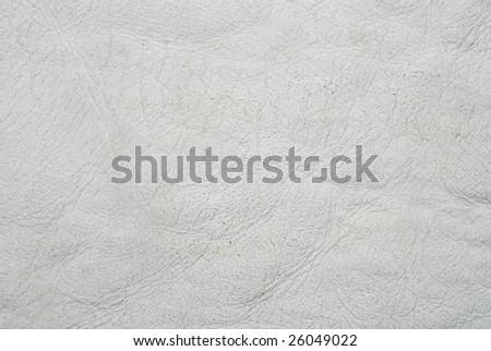 Sheep genuine leather texture - stock photo