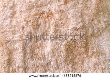 Sheep wool fur texture for background