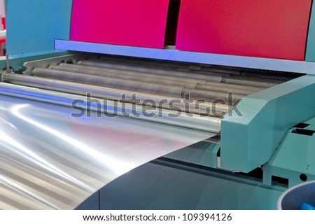 sheet metal forming - stock photo