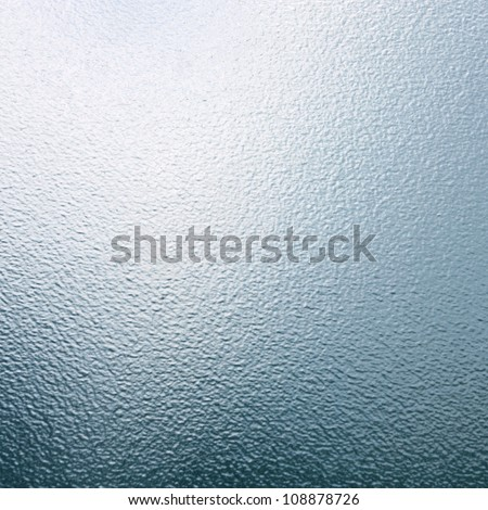 sheet of glass texture, smooth gradient background - stock photo