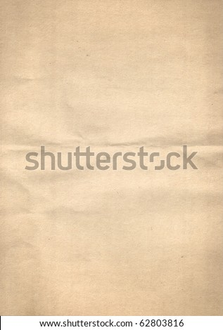 Sheet of yellow construction paper with texture - stock photo
