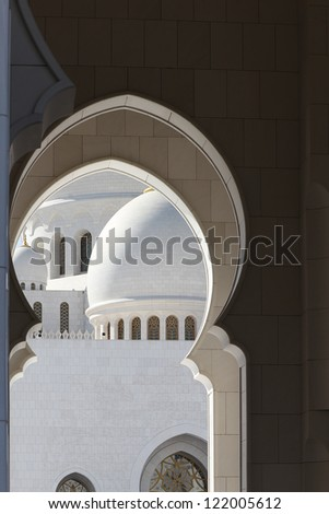 Sheikh Zayed Grand Mosque - Abu Dhabi.