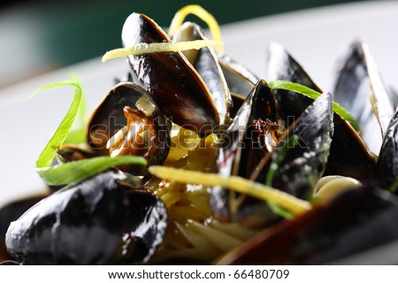 shellfish - stock photo