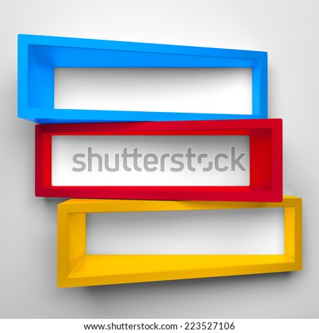 Shelves - stock photo