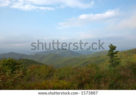 Shenandoah NP, Virginia - stock photo