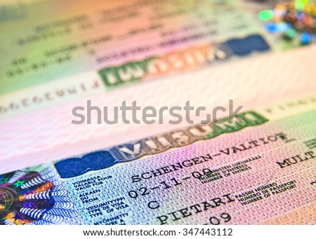 Shengen visa from Finnish Consulate in Saint-Petersburg. Russia