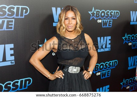 Sheree Whitfield arrives Gossip Best-Dressed List Awards on Tuesday, June 27th 2017 at the W Midtown's Lounge, Elevate