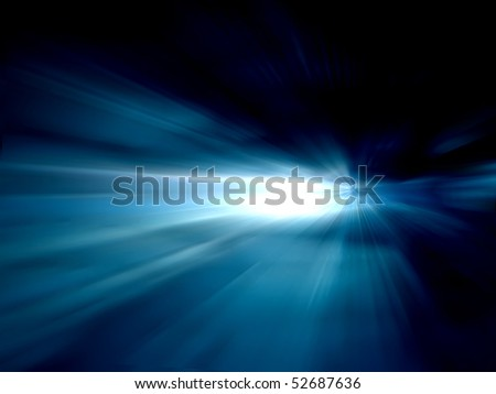 shining in space - background abstraction - stock photo