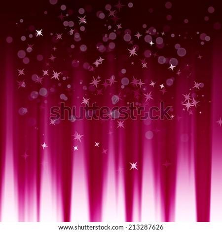 shining stars on the dynamic background - stock photo